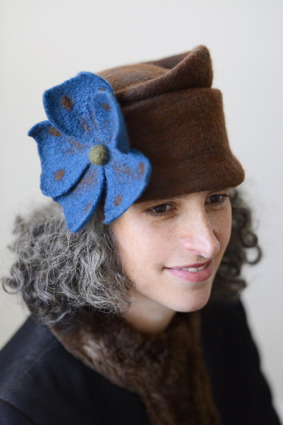 Russian Princess Felt hat