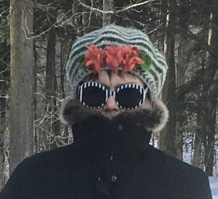susan striped beret